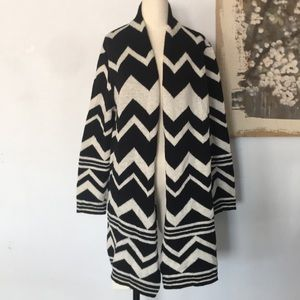 Chico's Long Soft Oversized Sweater Wool Blend 3